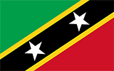 Kittitian/Nevisian Flag